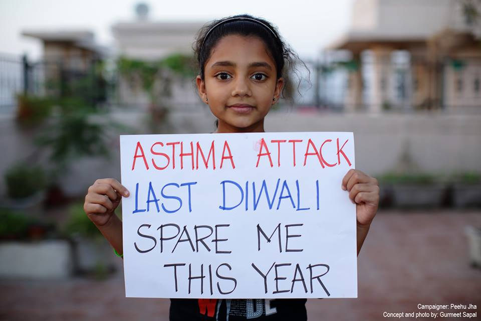 diwali 2014, go green, say no to crackers, pollution, save earth, india