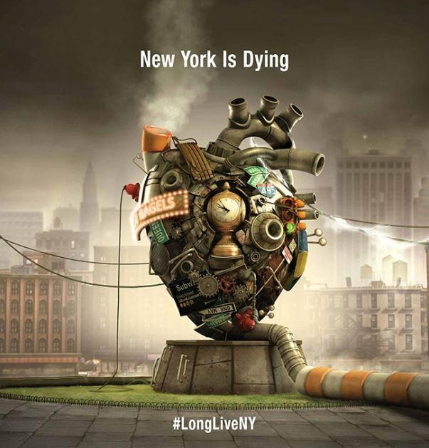 #LongLiveNY, new york, america, Laurent Witz, long live new york, organ donor network, advertisement, donate organ animated video