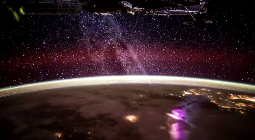 nasa, space, fede castro, nuestra tierra our earth, wow, aurora borealis, time lapse video of Earth