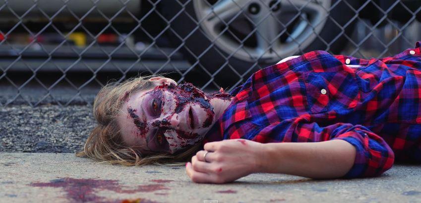 prank, horror, funny, zombie video, zombie homiside, omg, zombie prank