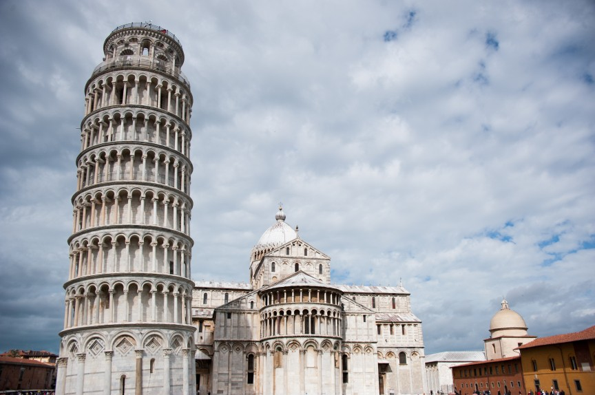 1. The Leaning Tower of Pisa