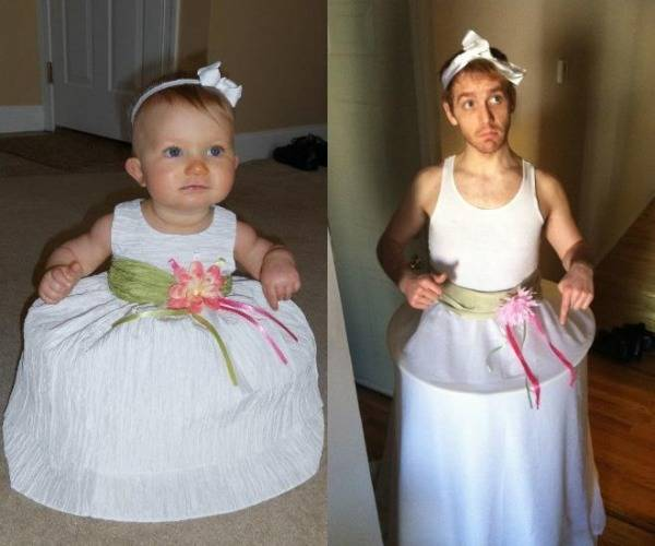15 Awesome Recreation of Childhood Pictures