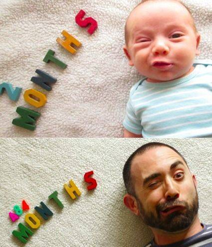 Kid Pictures Recreated As Adults