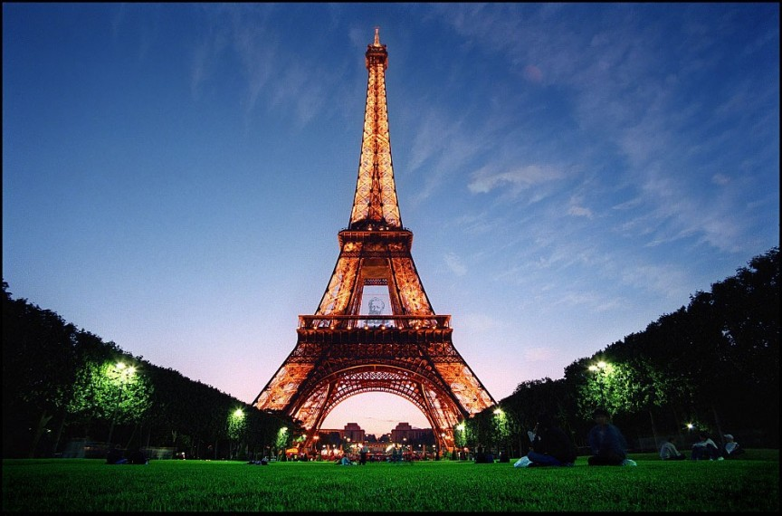 2. The Eiffel Tower