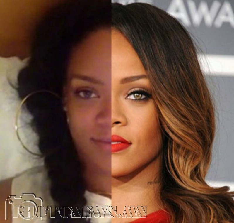Rihanna rocks the no makeup selfies like no other, but sheu0026#39;s quite the ...