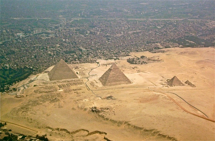 4. The Pyramids of Giza