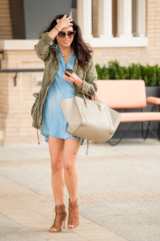 7.Jenna Dewan stepped out for a Tuesday shopping trip in LA.