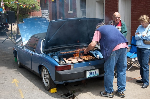 11 Cool Photos Of Mean Machines Serving As Bbq Will