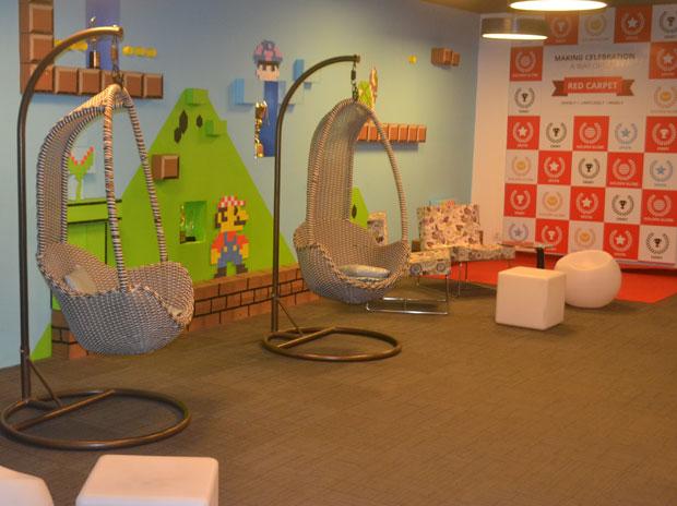 inMobi, bangalore, office, indian startup, creative office india, office dhaba, employees, inMobi office, inMobi smart,