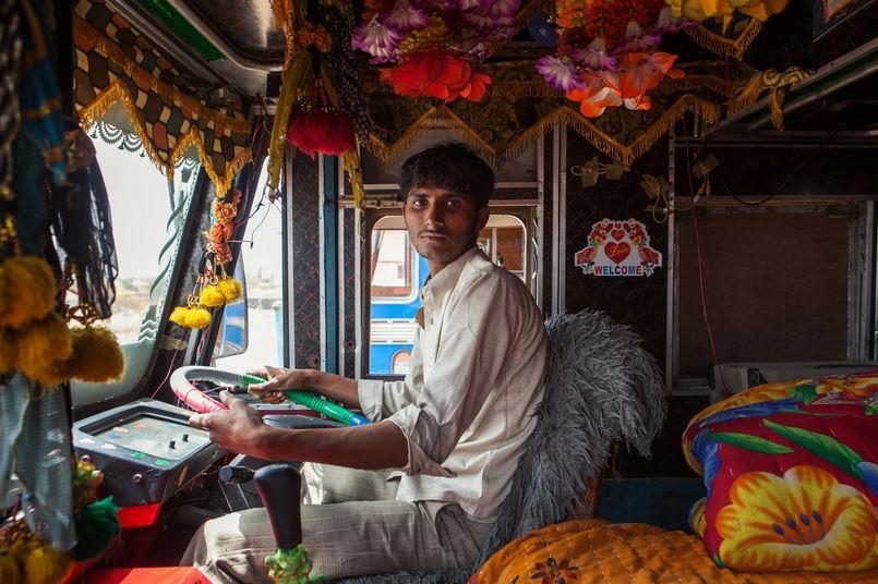 horn please, decorated Trucks of India, dan eckstein, colorful indian trucks, lifeline of indian roads, india, awesome, wow, indian truck driver photo, buri nazar wale tera muh kala, use dipper at night, Ok tata, fil milenge, writeups on indian trucks