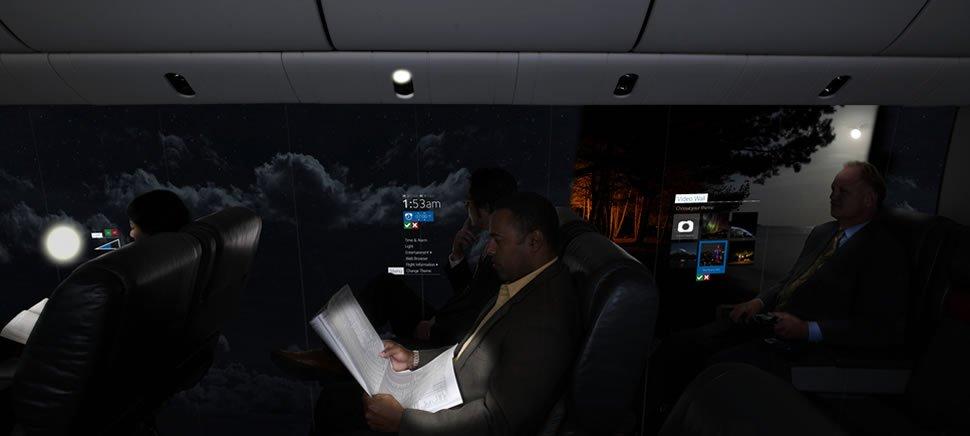 windows less planes