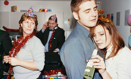 1. Office Christmas party. Reality