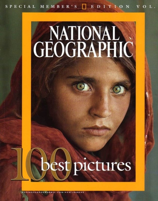 Girl most famous photograph national geographic photograph best