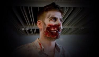 #zombiefan, zombie, gerard piqué, barcelona, footballer turned zombie