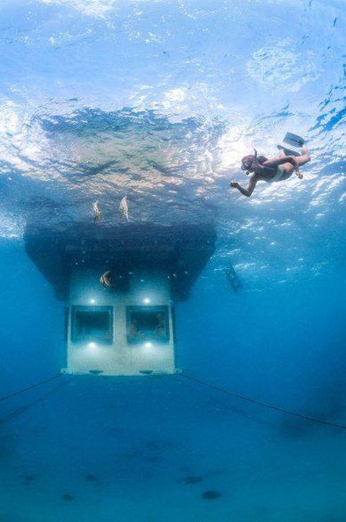 Floating Hotel Room Africa