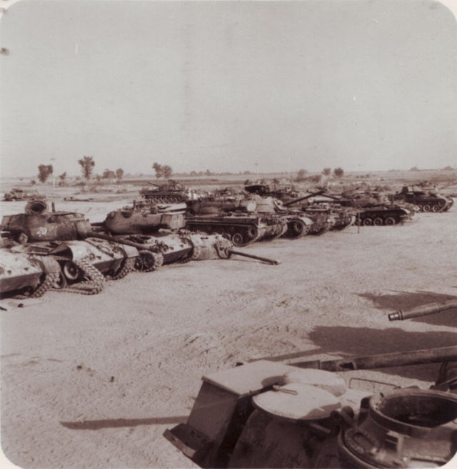 pak patton tanks destroyed