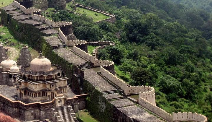 kumbhalgarh-fort-stay-rajasthan Historical Places In India