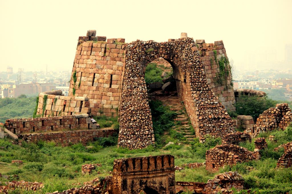 Tughlaqabad Fort - By Gaurav Saraswat Historical Places In India