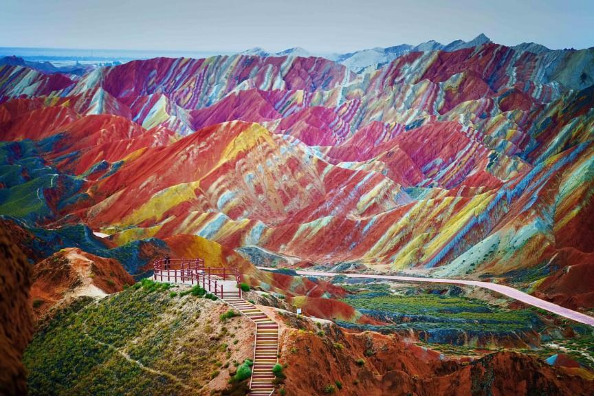 Zhangye Danxia National Geographic Park – China