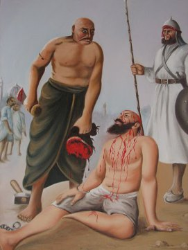hindu prist punished by islamic invador