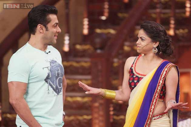 kapil's wife in comedy nights
