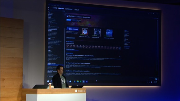 how to find games download on windows 10 steam