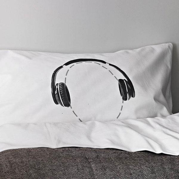 #13 Headphones Pillow