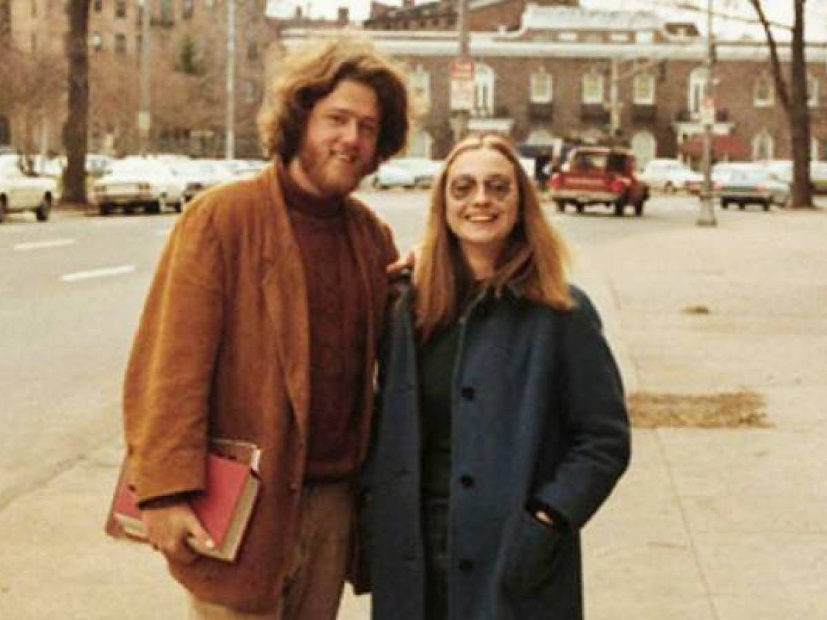 Young hillary with old gino