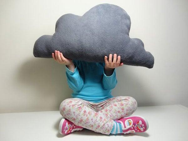 #24 Dark Cloud Cushion