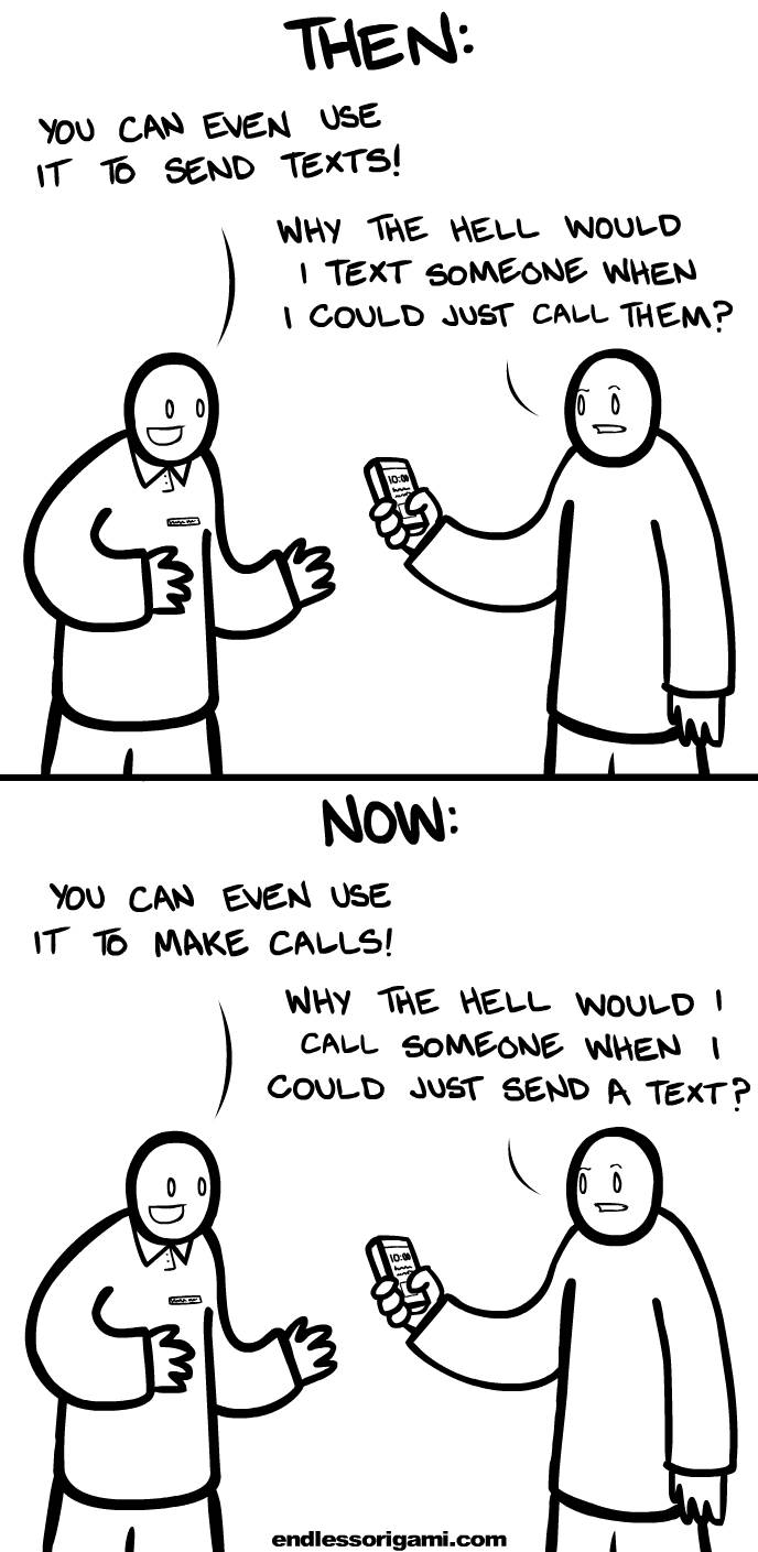 5. How we use phones