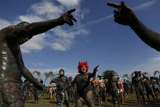 Brazil Mud Carnival