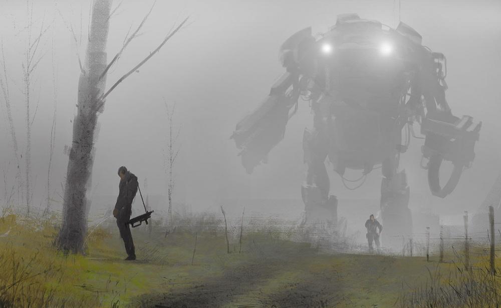 Robot in the fog