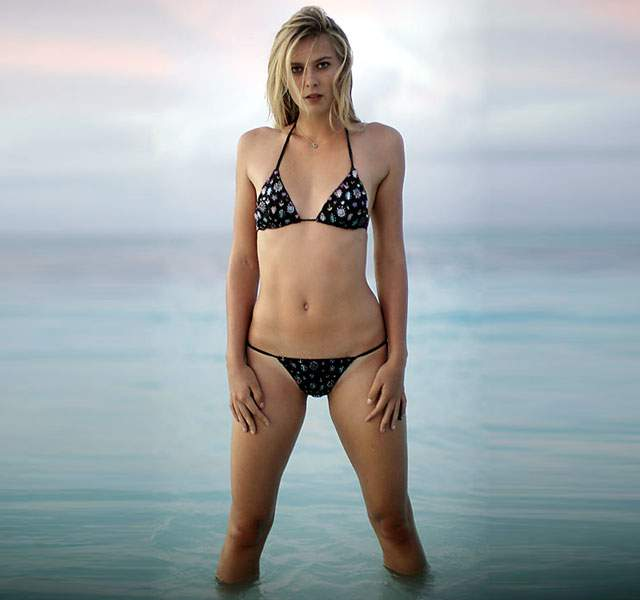 Of In 28 Hottest BikiniTennis Photos Sharapova Goddess Maria qSzMpGUV
