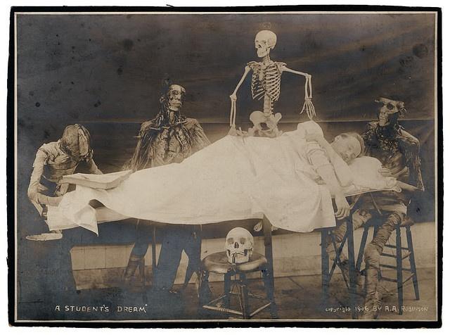 'A Student's Dream' 1906