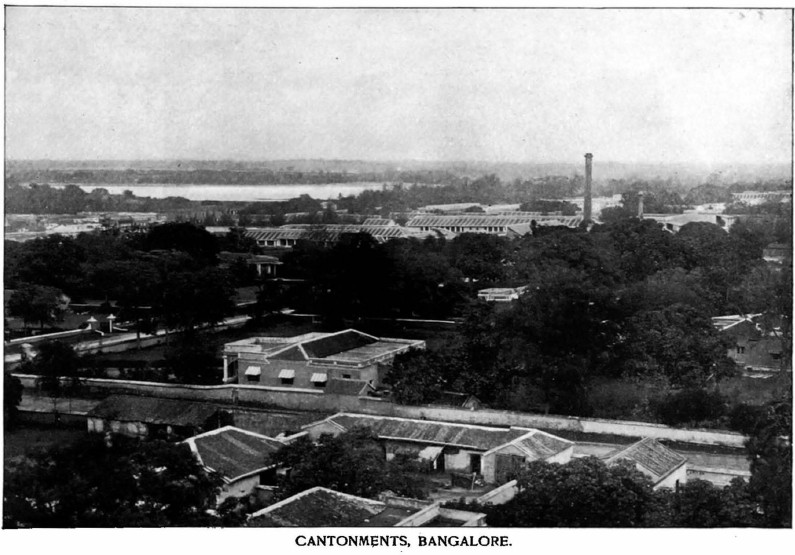 Bangalore Cantonment (c. 1895)