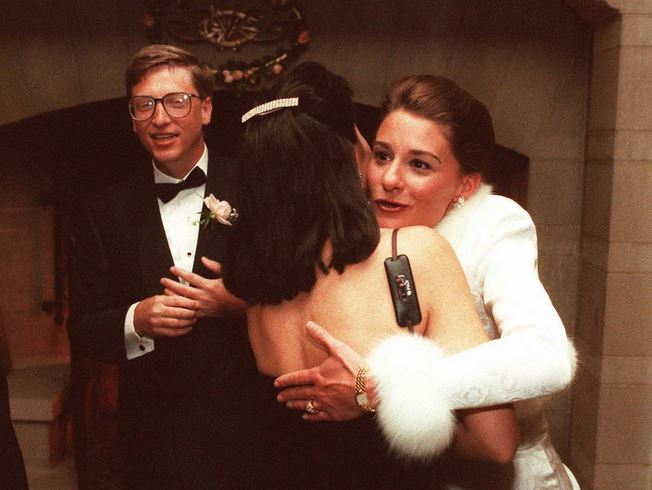 Bill and malinda gates married