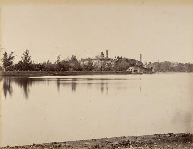 Halsur Tank, Bangaloretaken in 1902