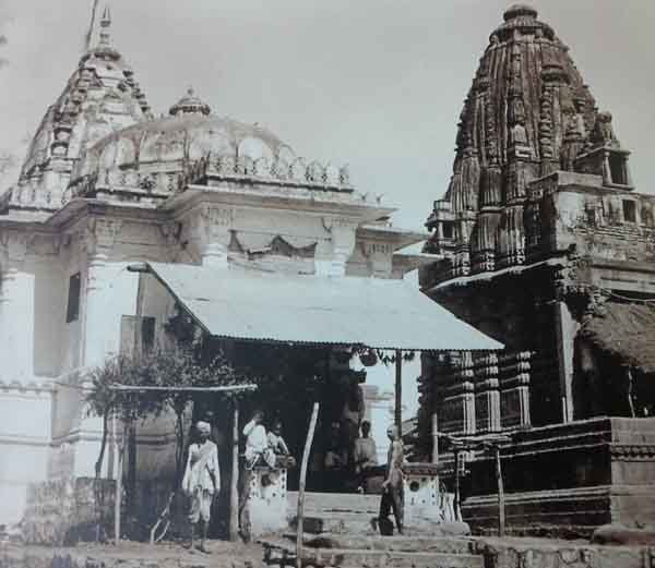 Harsidhi tample