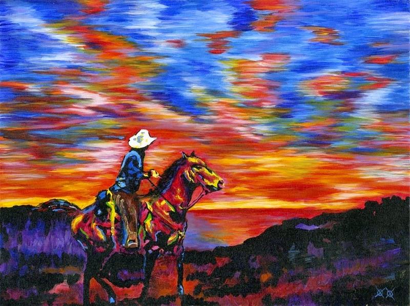 John Bramblitt Painting 1