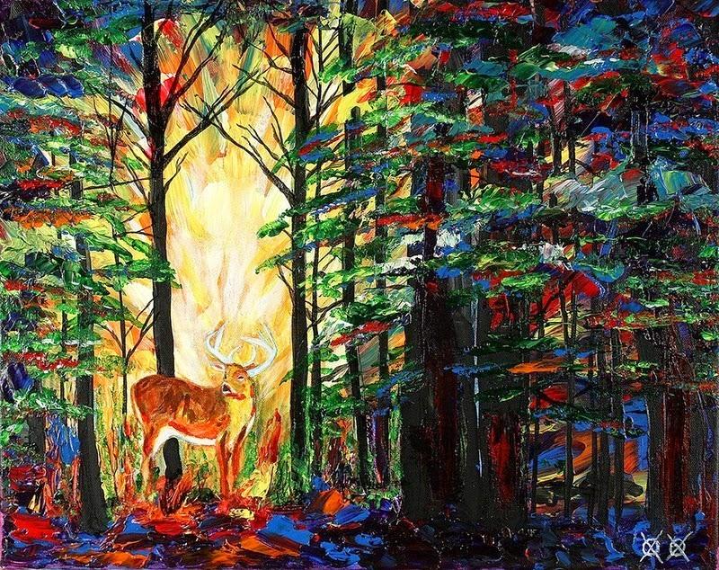 John Bramblitt Painting 10