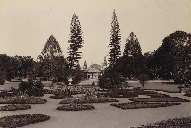 Lal Bagh Gardens, Bangalore taken in the 1890s