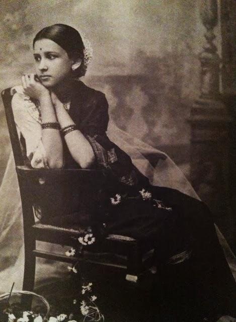 Maharani Indira Bai Sahib Holkar, Second Wife of Maharaja of Indore Tukojirao Holkar III