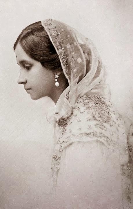 Maharani Shrimant Chandravati Bai Sahib Holkar, First Wife of Maharaja of Indore Tukojirao Holkar III