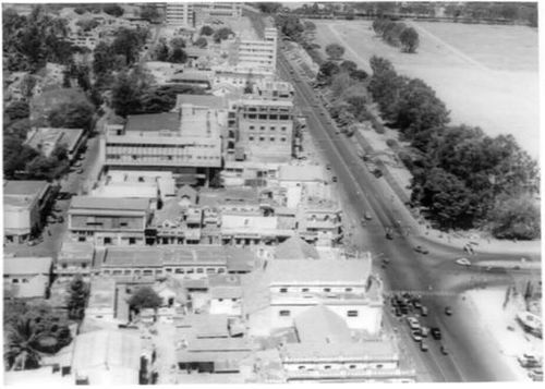 Mahatma Gandhi Road and Parade Ground
