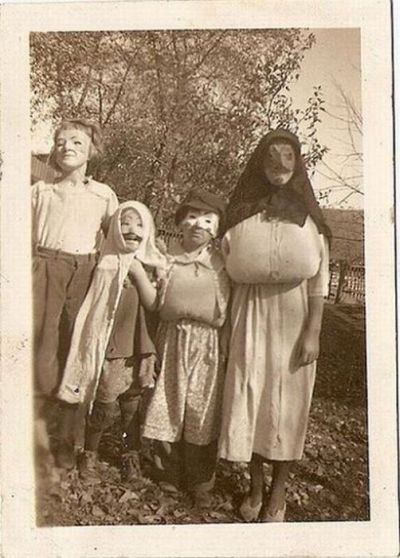 Mama was always a little bosomy!