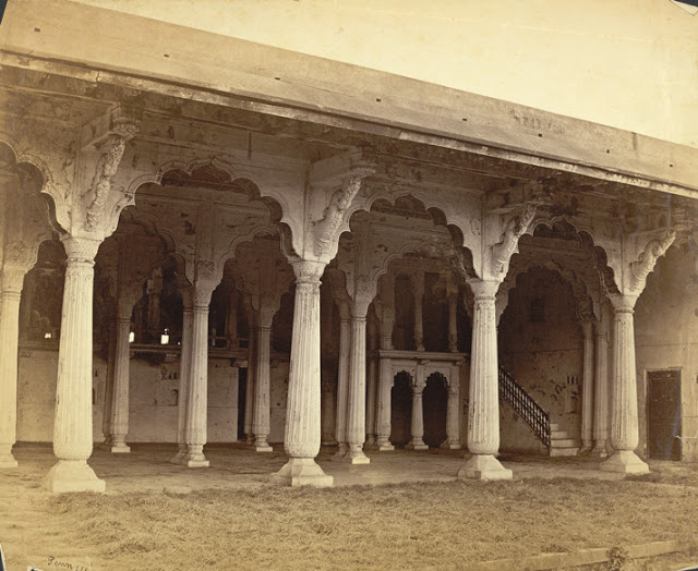 Old Palace in the Fort 1870