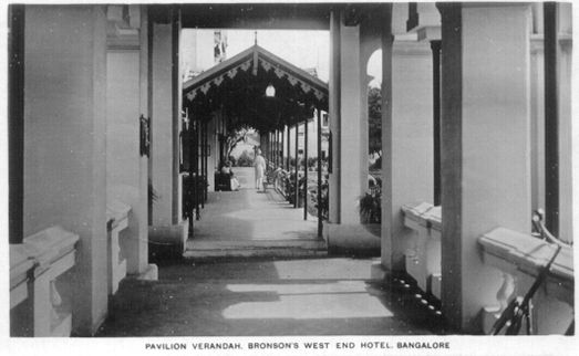 Pavilion Verandah Bronsons West End Hotel, Now simply known as West End