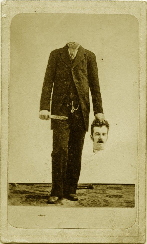 Pictures in Time 19th Century Headless Portraits