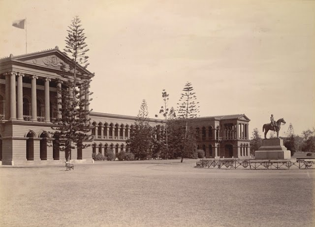 Public Offices, Bangalore taken in the 1890s