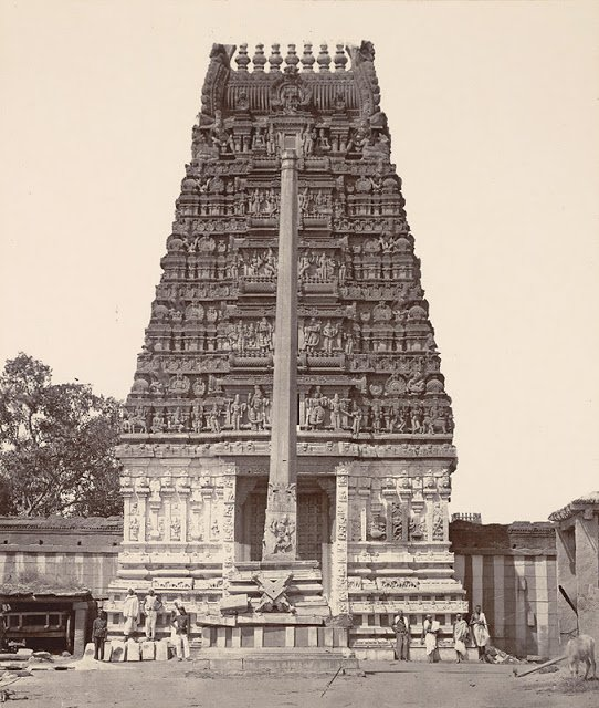 Someshwara Temple, Ulsoor,1890